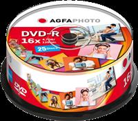 Agfa Photo 1x25 DVD-R / 4,7 GB / Contenitore rotondo