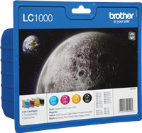 Multipack Brother LC-1000-BK C M Y