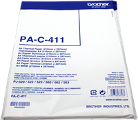 Carta termica Brother PAC411
