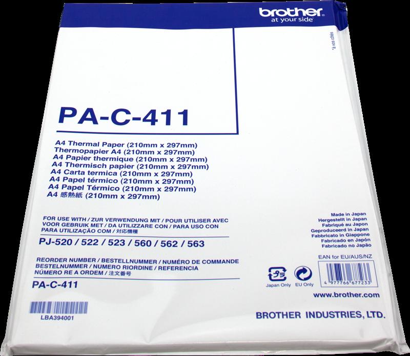 Carta termica Brother PA-C-411