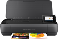 Stampante a getto d'inchiostro HP OfficeJet 250 Mobile