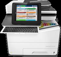 Dispositivo multifunzione HP PageWide Enterprise Color Flow MFP 586z