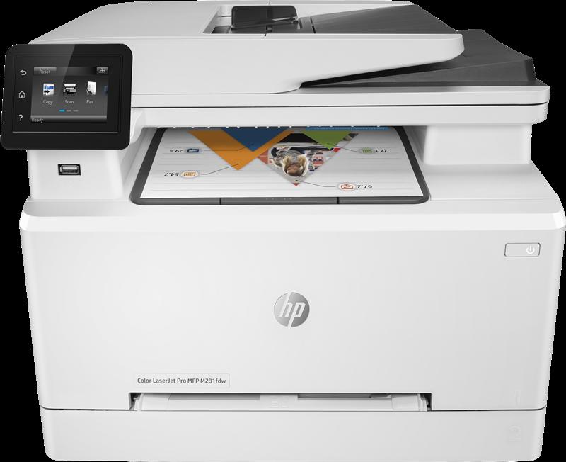 Dispositivo multifunzione HP Color LaserJet Pro MFP M281fdw