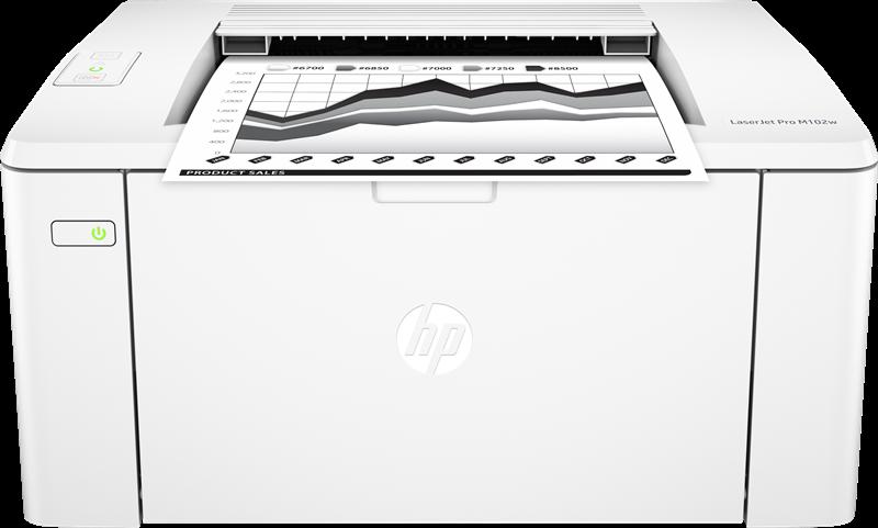 Stampante Laser in Bianco e Nero  HP LaserJet Pro M102w