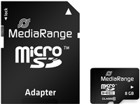 MediaRange Scheda di memoria 4 GB