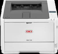 Stampante Laser in Bianco e Nero  OKI B412dn