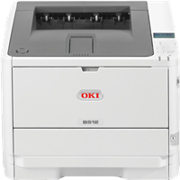 Stampante laser bianco/nero OKI B512dn
