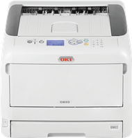 Stampanti Laser a Colori OKI C833n