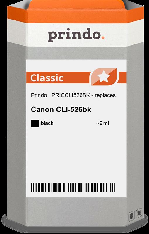 Cartuccia d'inchiostro Prindo PRICCLI526BK