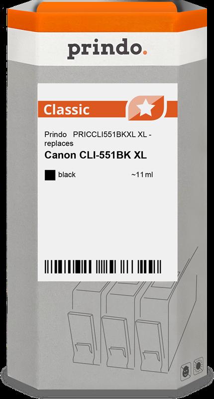Cartuccia d'inchiostro Prindo PRICCLI551BKXL