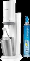 Sodastream Acqua frizzante Crystal Premium Bianco