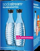 Sodastream Duo-Pack / 2x caraffa di vetro 0,6 L Trasparente