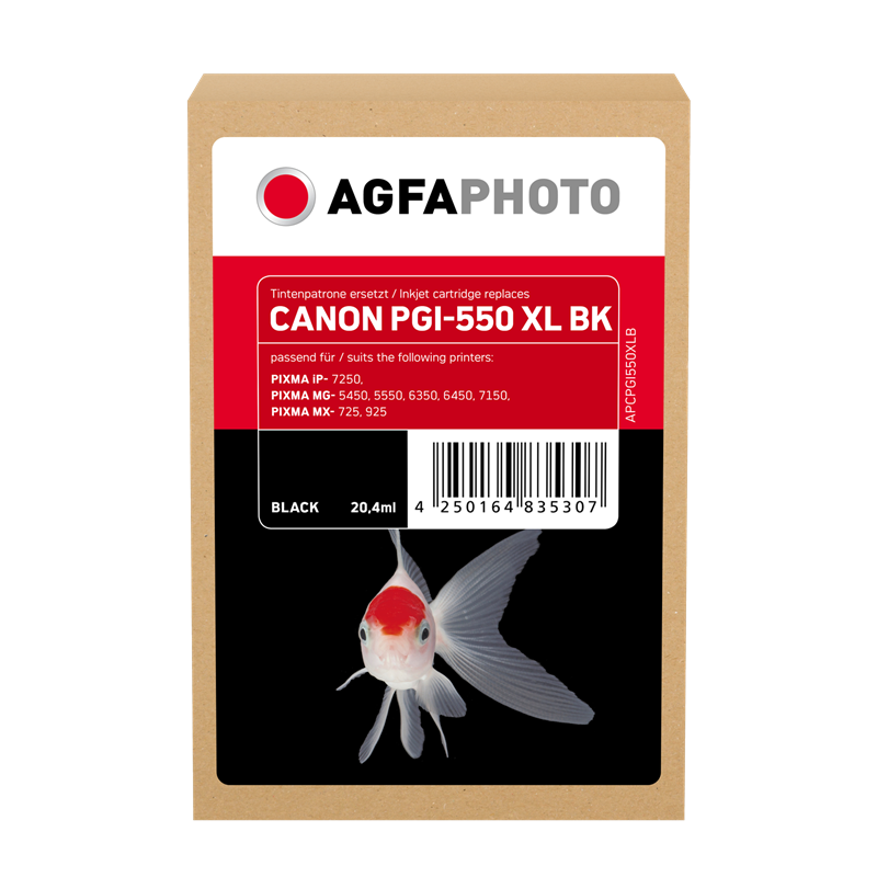 Cartuccia d'inchiostro Agfa Photo APCPGI550XLB