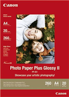 Carta fotografica Canon PP-201 A4