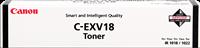 toner Canon C-EXV18