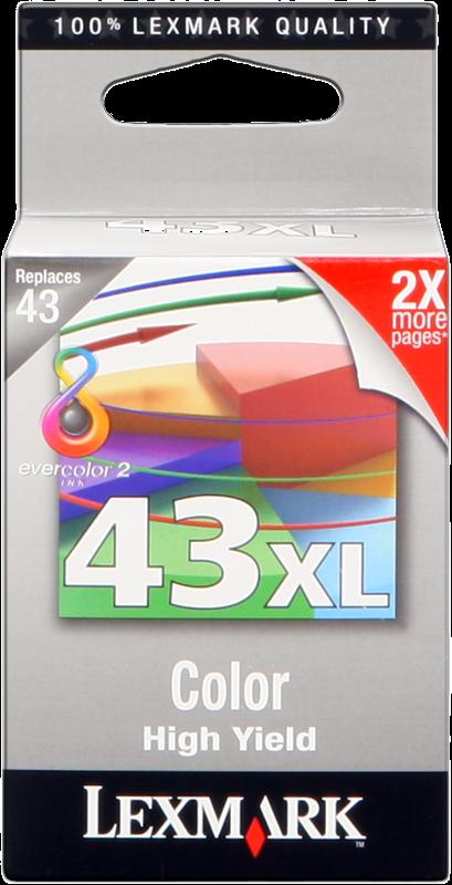 Cartuccia d'inchiostro Lexmark 43 XL